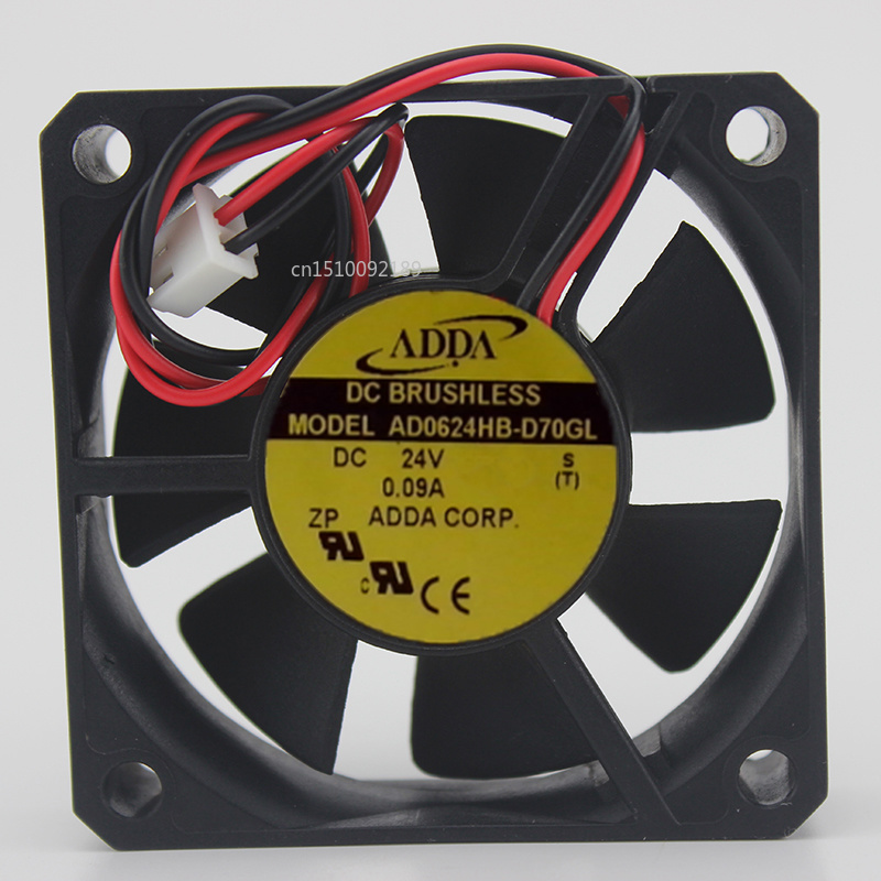 For Original Genuine Fan AD0624HB-D70GL 6015 24V 0.08A Cooling Fan Free Shipping