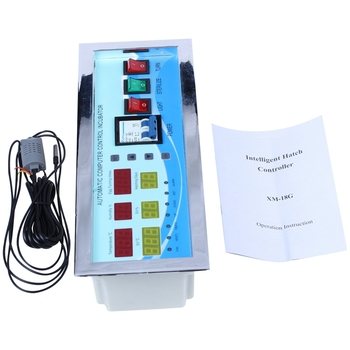 XM-18G Automatic Egg Incubator Controller Digital LED Temperature Controller Temperature Humidity Sensors Egg Hatcher Controller