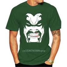Camiseta con estampado de letras para hombre, Camiseta con estampado original de LOBO * DC Comics, vaporable en plus, algodón, gran descuento, novedad de 2020