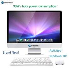 23.6 Inch All In One Pc Windows 10 Computer Intel I3 I5 Core Wifi Desktop Pc Lcd