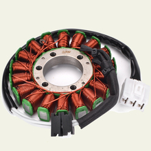 Stator Coil For Yamaha YZF R6 YZFR6 YZF-R6 2006-2017 2C0-81410-00 2C0-81410-01 2017 2016 2015 2014 2013 2012 2011 2010 2009 2008 for yamaha yzf r6 2008 2009 2010 11 12 13 14 complete all silver abs fairings 3mm thick injection plastic kits