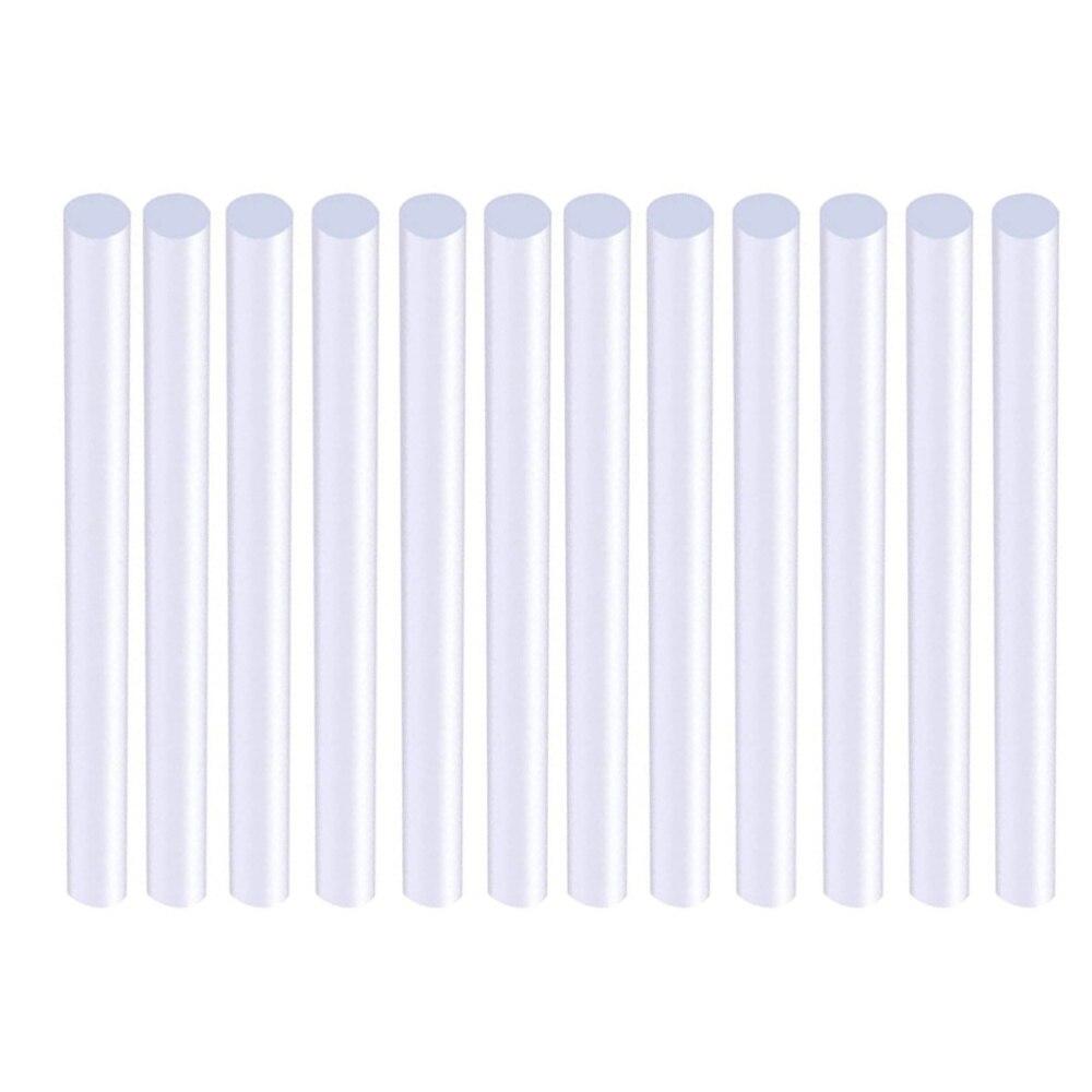 80PCS Hot Melt Glue Sticks Transparent Heat Melting Glue Strips All Purpose Eco-Friendly Glue Sticks (0.7x10cm)