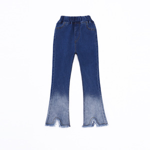 Image 4 - 2020 autumn childrens clothes girls jeans casual slim thin denim baby girl jeans for girls big kids jeans long trousers