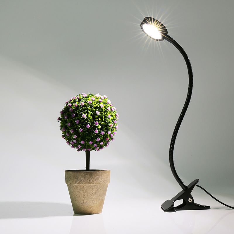 44Pcs Contas de Luz Uso 6W LEVOU Clipe Luz Planta Espectro Completo Para Planta Flor Planta Luz de Preenchimento E horticultural Berçário