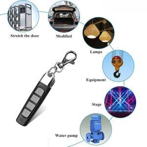 Image 5 - Kebidu 4 przyciski Clone pilot 433MHZ bezprzewodowy nadajnik brama garażowa elektryczny kontroler drzwi przed kradzieżą zamek na klucz