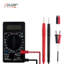 Mini Digital Multimeter DT830D voltmeter Voltage Ampere Ohm Tester Buzzer Overload protection Safety Probe DC AC LCD black