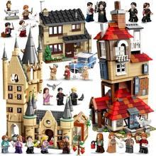 2021 nova magia grande castelo compatível hall blocos de construção tijolo dos desenhos animados brinquedos cérebro jogo modelo anime presentes