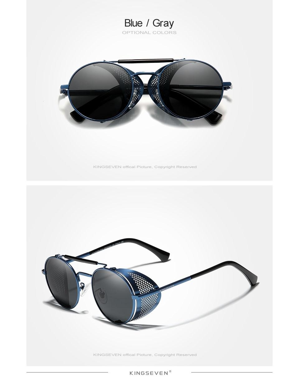 H3ef527d5e6ba417da4b446a51a183d60T Genuine GIFTINGER Retro Round Steampunk Sunglasses Men Retro Women Sun Glasses Shades Vintage Travel Eyewear Gafas De Sol 7550