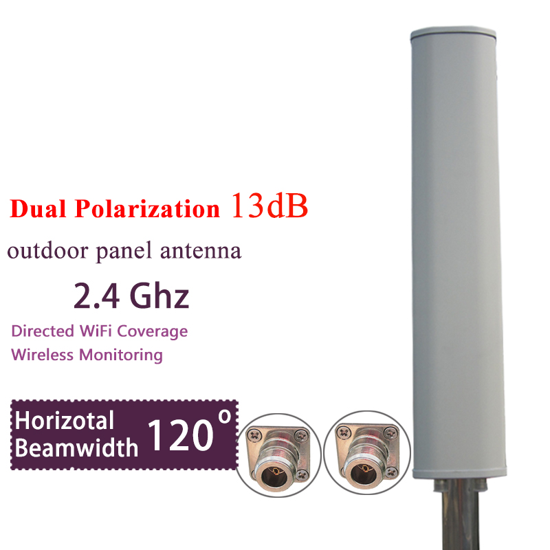Networks 2x2 MIMO BaseStation Sector Antenna - Range UHF 2.30 GHz to 2.70 GHz - 13 dBi sector antenna