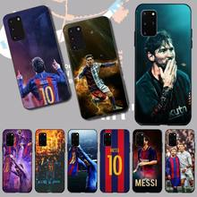 PENGHUWAN Lionel Messi Black Newly Arrived Black Cell Phone Case for