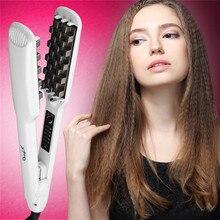 Hair-Straightener Volumizing Iron Heating Ceramic Styling Pliers45 Artifact Corn-Perm