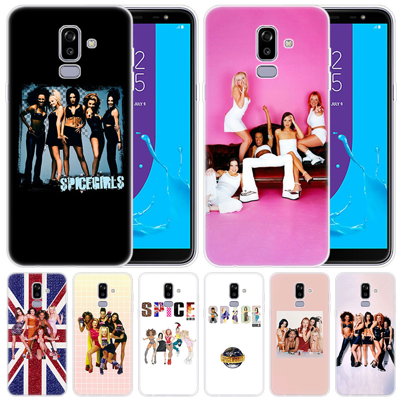 luxury Soft Silicone <font><b>Case</b></font> <font><b>Sexy</b></font> Spice <font><b>Girls</b></font> for Samsung <font><b>Galaxy</b></font> J8 J7 J6 J4 J2 2018 Core J3 <font><b>2016</b></font> <font><b>J5</b></font> 2017 EU J4 Plus J7 Prime Cover image