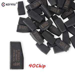 Image 1 - KEYYOU 10x Afstandsbediening Autosleutel Chip ID40 Transponder Chip ID 40 Crypto Carbon ID40 Chip Voor Vauxhall Opel