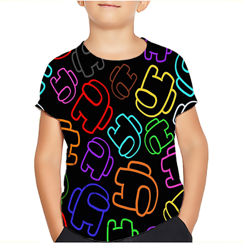 Toddler Baby Boy Kids Camera Short Sleeve Tops Summer O Neck T-Shirt Tees Top