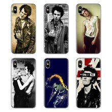 Sex Pistols Sid Vicious Poster Print For Xiaomi Mi3 Samsung A10 A30 A40 A50 A60 A70 Galaxy S2 Note 2 Grand Core Prime Soft Cover(China)