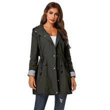 Brand Fashion 2019 Fall /Autumn Casual Simple Classic Long Trench Coat with Belt Chic Female Windbreaker for Women