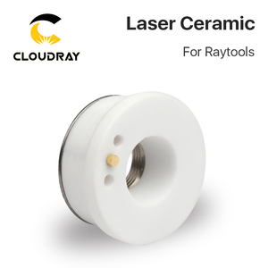 Image 3 - Cloudray Laser Ceramic 32mm/ 28.5mm OEM Raytools Lasermech Bodor Nozzle Holder For Fiber Laser Cutting Head
