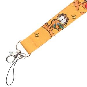 Image 5 - CA223 Wholesale 10pcs/lot Cat 2019 New Lanyard Key Strap for Phone Keys Cartoon Lanyards ID Badge With Key Ring Holder