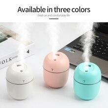 200ml 2pcs Mini Ultrasonic Air Humidifier Aroma Essential Oil Diffuser Portable Humidifier