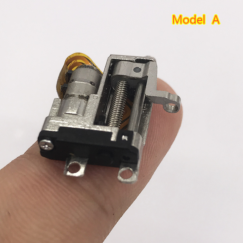 Tiny Mini 5mm Super Precision Planetary Full Metal Gearbox Gear Stepper Motor  2-phase 4-wire Step Motor Linear Screw Rod Slider