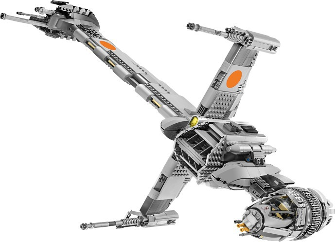 Image 5 - 05045 Star Wars Series The B wing Star Fighter Mobile Building Block 1487Pcs Bricks Toys Gift Star Wars 10227-in Blocks from Toys & Hobbies