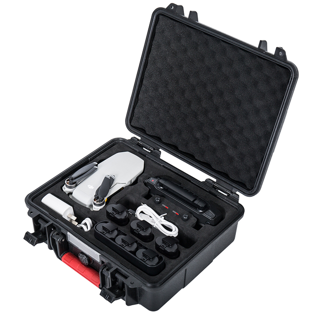Smatree Waterproof Bag Carry Case for DJI Mavic Mini Drone/Remote Control/Batteries/Two Way Charging Hub