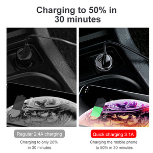 Image 3 - Baseus Car Chargerบุหรี่ไฟแช็กซ็อกเก็ตSplitter Hub Power AdapterสำหรับiPhone Samsungโทรศัพท์มือถือExpander Charger DVR GPS