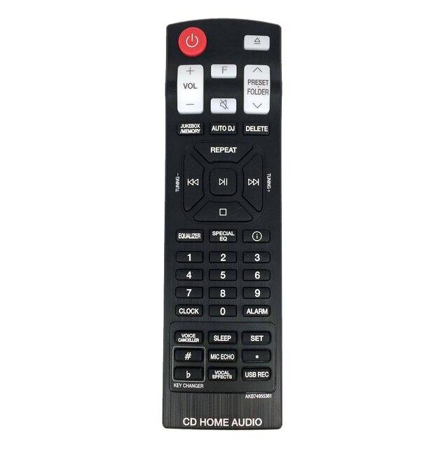 USATO Originale Telecomando AKB74955361 Per LG CD Home Audio Sound Bar OK99FB