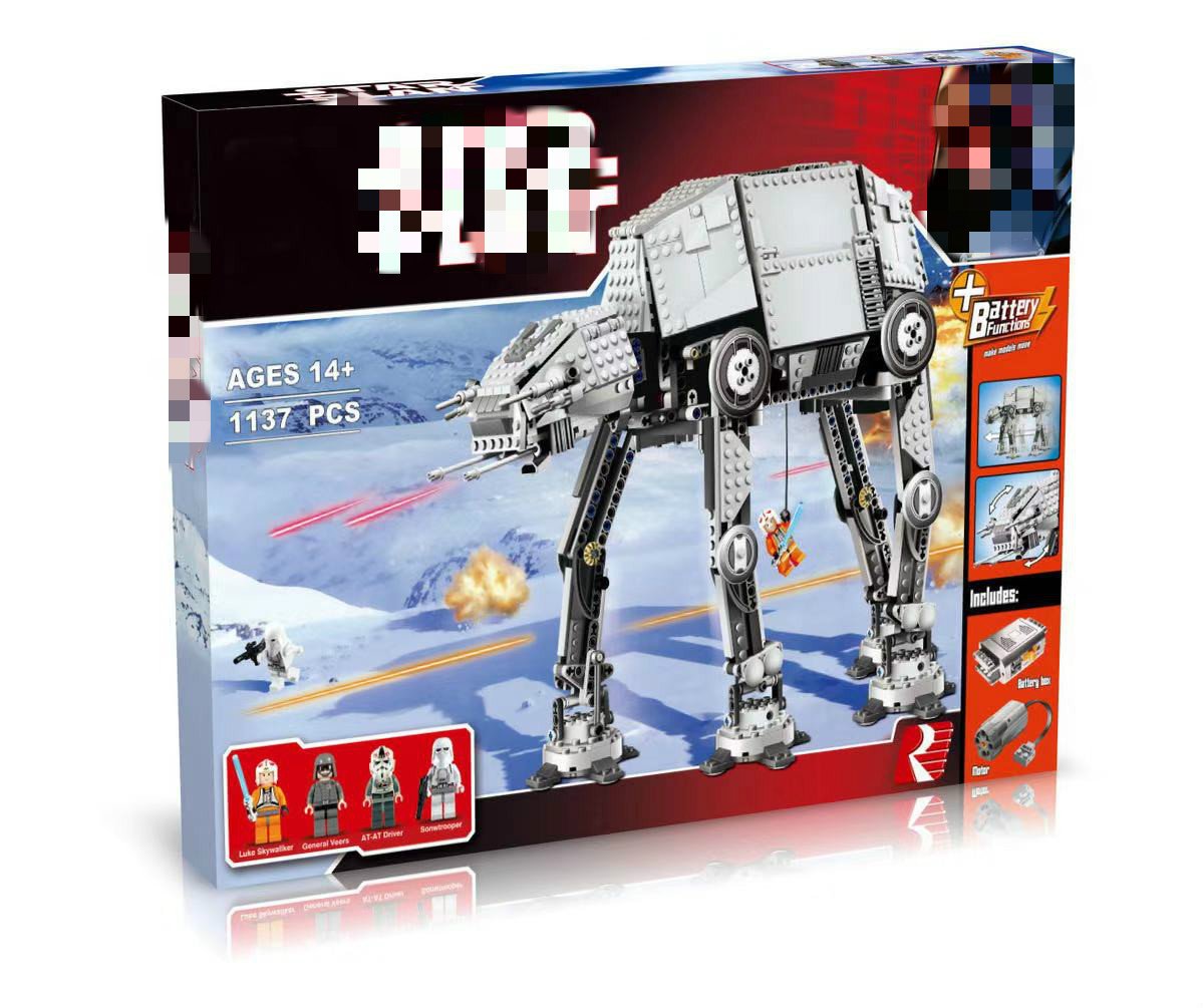 05050 Star Toys Wars Compatible With 10178 Motorized Walking AT-AT Set Assembly Toys Model Kids Christmas Gifts Building Blocks 1