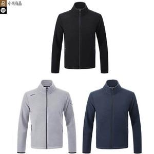 Image 1 - Nouvelle veste en polaire imperméable Youpin 90 points pour hommes, légère et chaude, sèche et non étouffante, anti mouillage