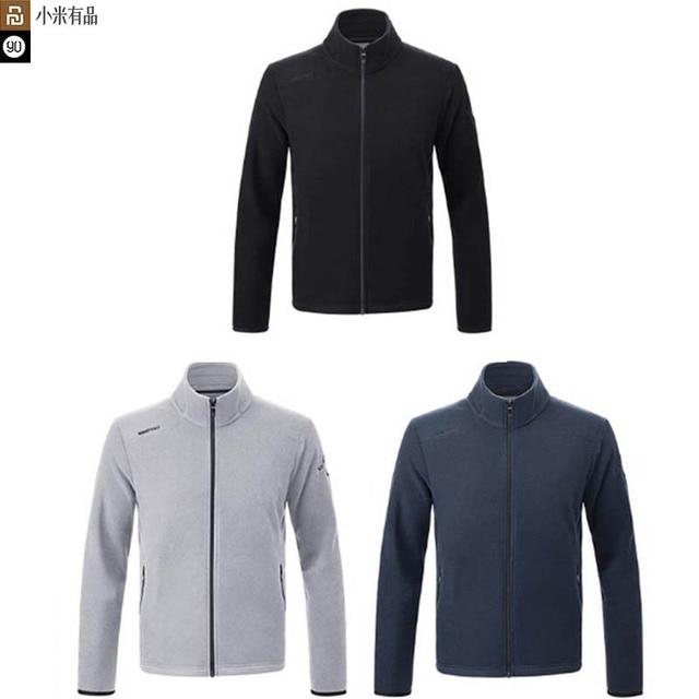 Nouvelle veste en polaire imperméable Youpin 90 points pour hommes, légère et chaude, sèche et non étouffante, anti mouillage