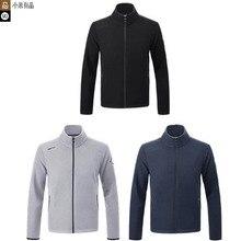 Novo youpin 90 pontos jaqueta de lã à prova de água masculina leve e quente seco e não abafado anti wetting desempenho