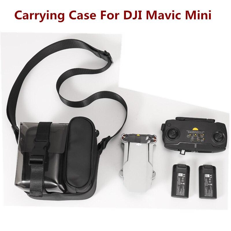 Carrying Case for DJI Mavic Mini Drone Accessory Storage Bag Shoulder Bag Handbag for DJI Mavic Mini no-original