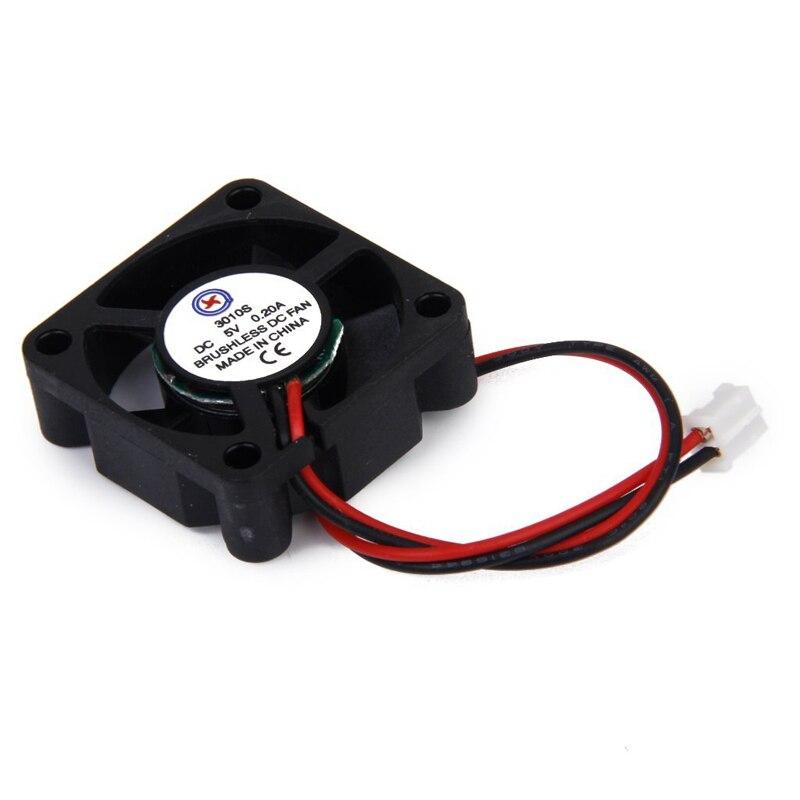 DC 5V 0.2A Fan With Screws For Raspberry Pi Model B +/ Raspberry Pi 2 Black