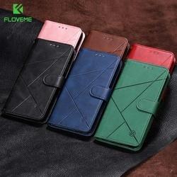 На Алиэкспресс купить чехол для смартфона floveme pu leather case for samsung note10 cover a20 a30 a40 a5 2017 a20e s8 s9 for samsung a50 flip cases s10 a10e s10e j6 2018