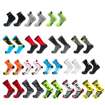 Different Style Pro Team Men Women Cycling Socks NW MTB Bike Sock Breathable Road Bicycle Socks Outdoor Sport Summe Racing Socks