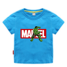 Children Clothes Costume Kids Shirts Summer 2020 T for Baby Boys Short Sleeve T-shirts With Hulk Tee tops 1-10 Years