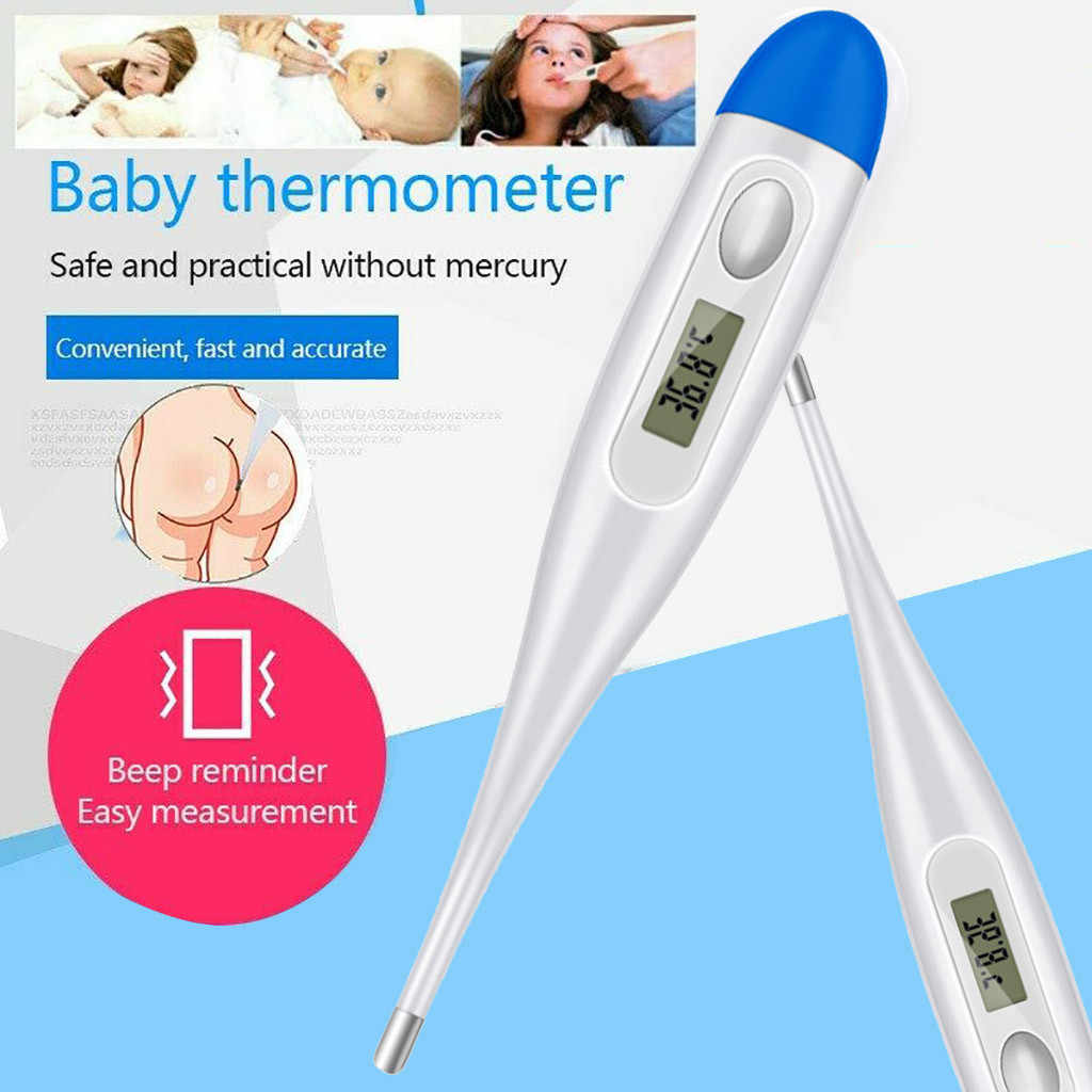 Ear and Forehead Axilla Oral Thermometer Digital Infrared Thermometer For Baby Children and Adults Fahrenheit