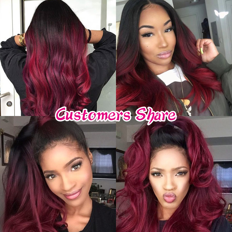 Straight Hair Bundles Brazilian Hair Weave Bundles Non-Remy Honey Blonde Hair Extensions Gossip Colored Ombre Human Hair Bundles (7)