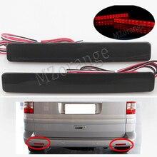 For Volkswagen VW T5 Transporter/Caravelle/Multivan 2003-2011 Red Rear Bumper light Brake Reflector light LED Tail Stop Light
