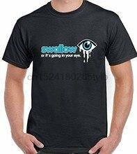 Swallor o Its Uscire Nella Tua Occhio-T-Shirt da Uomo Divertenti