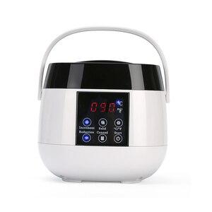 Image 5 - 500CC podgrzewacz wosku maszyna do usuwania włosów wyświetlacz LCD inteligentna maszyna do woskowania SPA ręczne stopy depilator ciała podgrzewacz do wosku i parafiny szybkie nagrzewanie