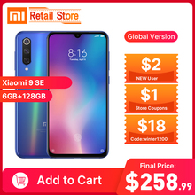 Xiaomi Mi 9 SE Global Version Mi9 se 6GB 64GB 128GB Mobile Phone Snapdragon 712 Octa Core 48MP Triple Camera NFC Smartphone