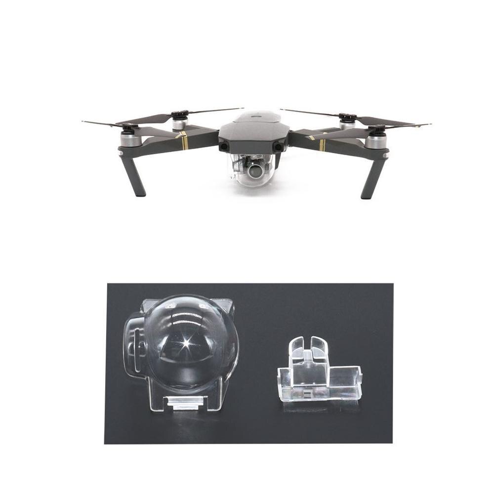 Transparent Gimbal Protective Cover Camera Lens Cap For DJI Mavic Pro Drone Camera Stabilizer Protector Accessories