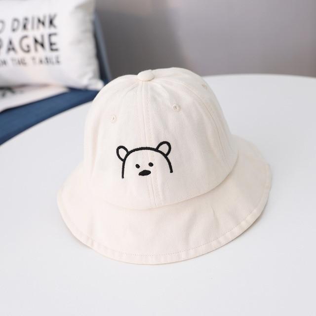 Cartoon Bear Printed Kid's Bucket Hat 6