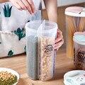 Прозрачная герметичная коробка для хранения Crisper зерна емкость для хранения пищи бытовые кухонные банки контейнеры для сухих злаков # N