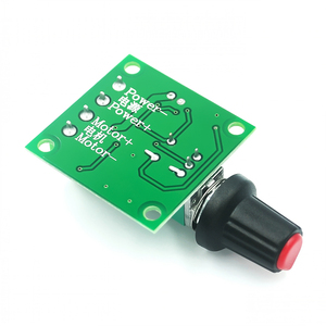 Image 3 - New DC 1.8V 3V 5V 6V 12V 2A PWM Motor Speed Controller Low Voltage Motor Speed Controller PWM 0~100% Adjustable Drive Module