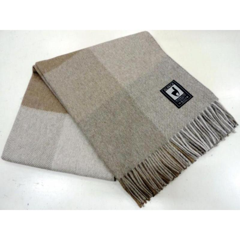 Plaid INCALPACA (55 wool alpaca, 45 wool Merino) PP-40 цена