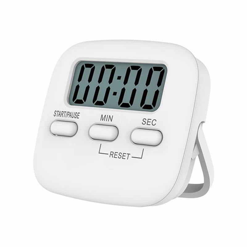 Digital LCD Kitchen Cooking Timer With Strong Magnet Back For Cooking Baking Sports Games Office ( Battery Not Included )