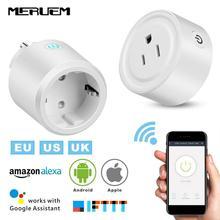 UK/US/EU Smart Home Casa Plug WIFI Senza Fili Presa Controllo Vocale Intelligente Alimentazione Supporto Google Casa,IFTTT